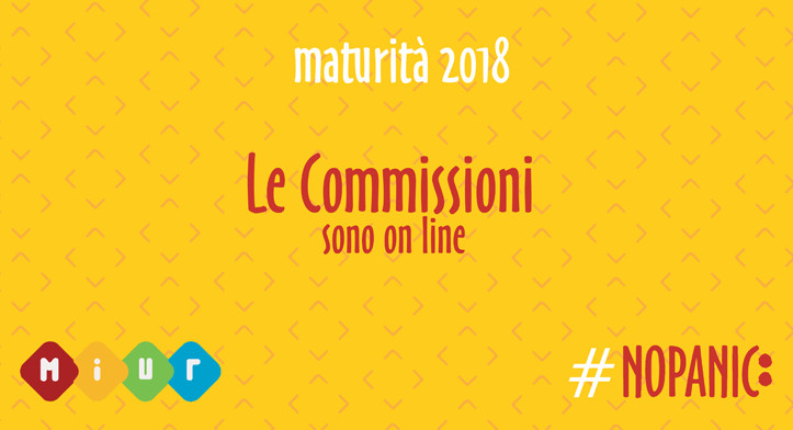 #Maturità 2018, on line le commissioni d'Esame